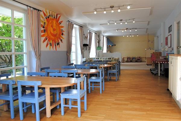 Kindergarten Raum Grashüpfergruppe