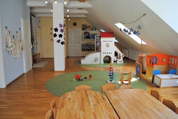 Kinderkrippe Raum Schmetterlinggruppe
